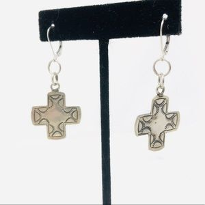 Pretty sterling silver earrings
